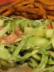 Asparagus Caesar Salad (Edible Perspective)